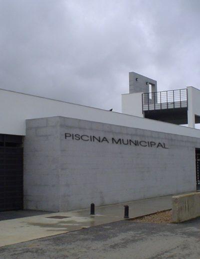 Fachada piscina municipal
