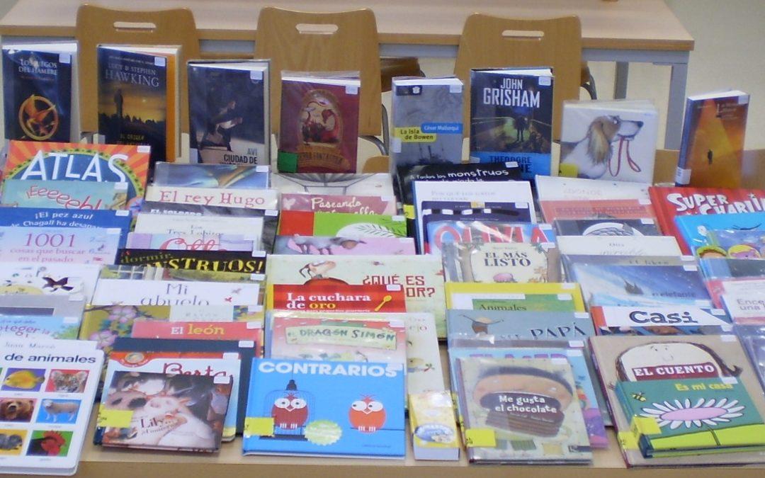 """La Biblioteca pone a disposición de niñ@s y jovenes el lote de libros procedentes del """"Premio María Moliner"""" 1"""