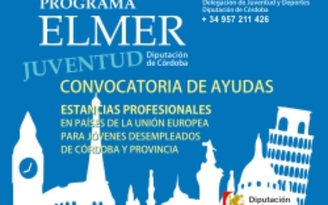 PROGRAMA ELMER  ¡¡¡NUEVA CONVOCATORIA. CURSOS DE IDIOMAS!!! 1