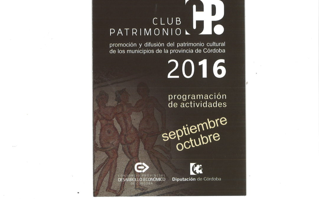 CLUB PATRIMONIO 2016 1