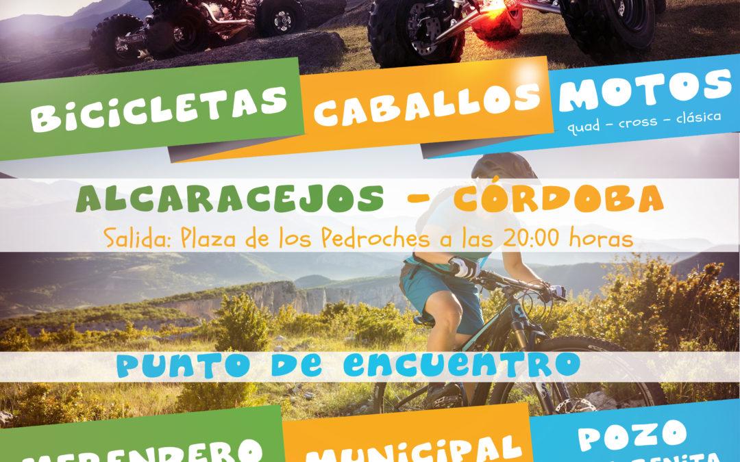 ENCUENTRO DE RUTAS – ALCARACEJOS 2017