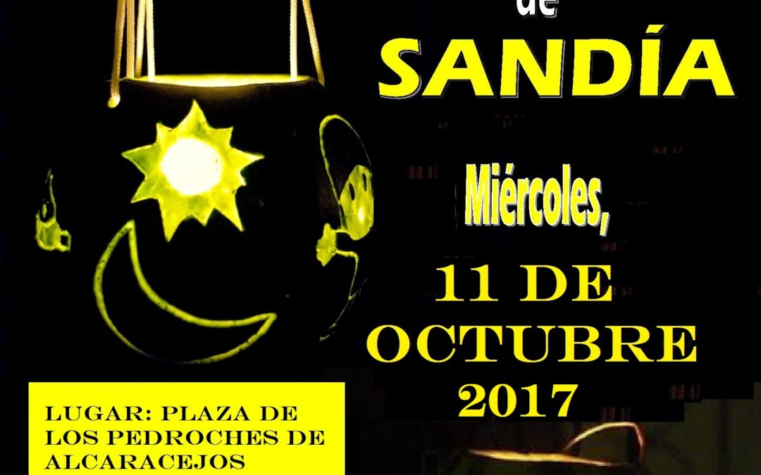 EXHIBICIÓN DE FAROLILLOS DE SANDIA 2017