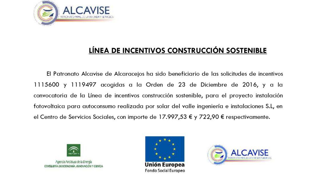 LÍNEA DE INCENTIVOS CONSTRUCCIÓN SOSTENIBLE 1
