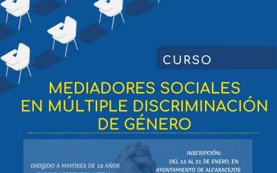 Curso: Mediadores Sociales en Múltiple Discriminación de Género
